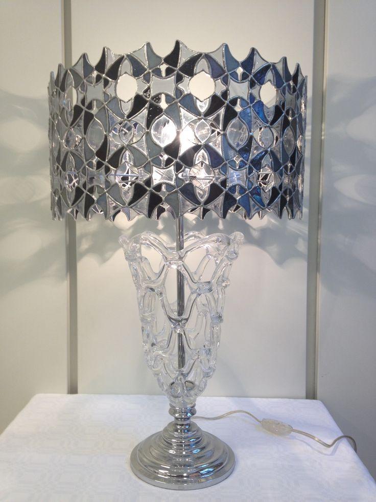 handmade stained glass lamp annasantandrea@hotmail.it