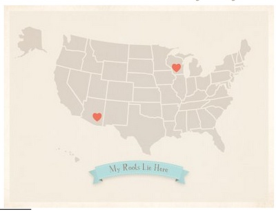 Sweet My Roots Lie Here Custom Maps By Children Inspired Design