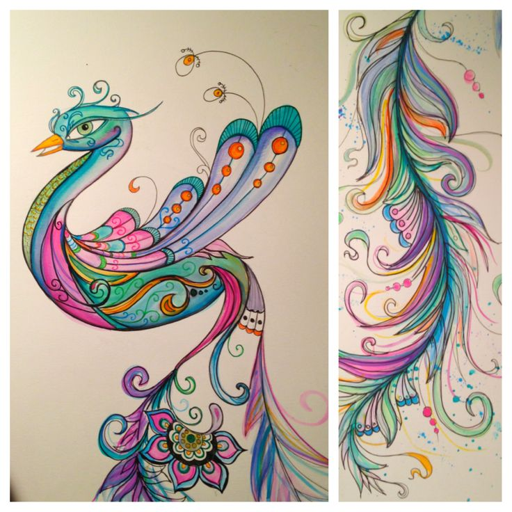 Tattoo design by Dina Verplank. Watercolor fireflytattoo.com - obsessed with the colorfulness