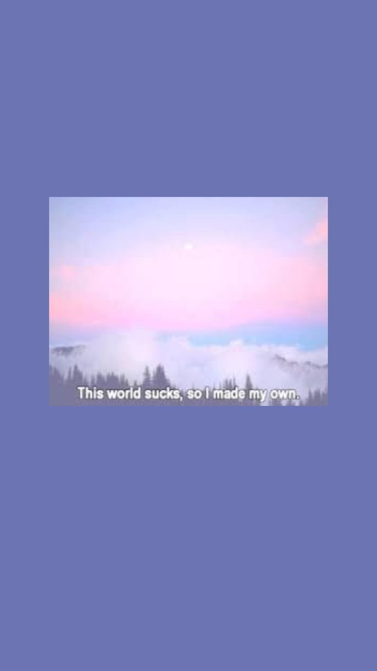 purple daydream cute beautiful soft aesthetic text