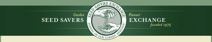 Consider joining Seed Savers! Check out their new Garden Planner;you can try it for 30 days...FREE