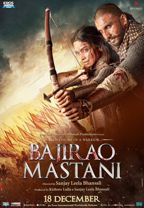 "Check out! The brand new poster of ""Bajirao Mastani"""