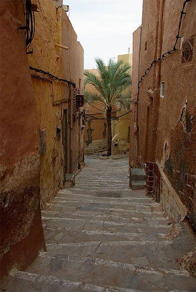 algerie ruelle_de_beni_isguen.