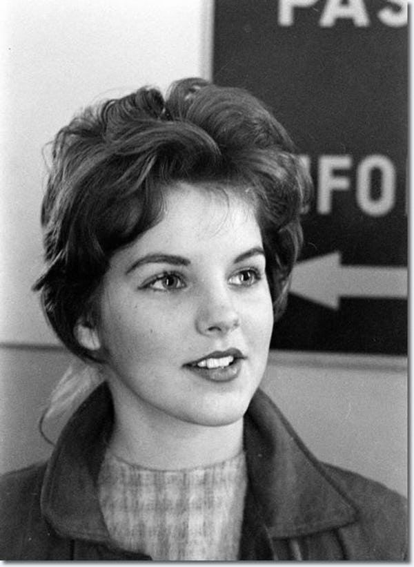 Young Priscilla Presley in a G... is listed (or ranked) 2 on the list 13 Pictures of Young Priscilla Presley