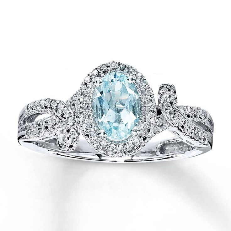 Beautiful Blue Diamond Ring Pretty Pinterest