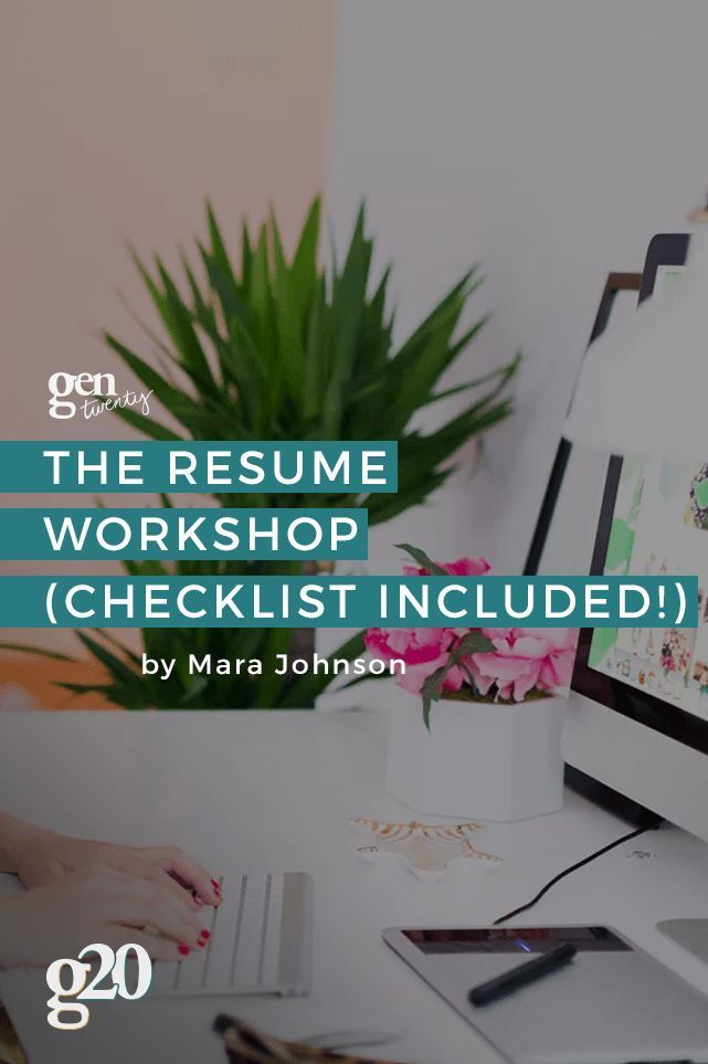 Is your resume making the right impression? Click through for The