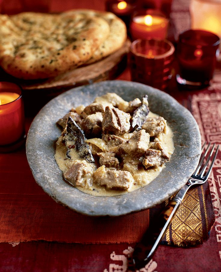 This Indian Safed Maas, or royal lamb korma recipe may take a while but it's worth it.