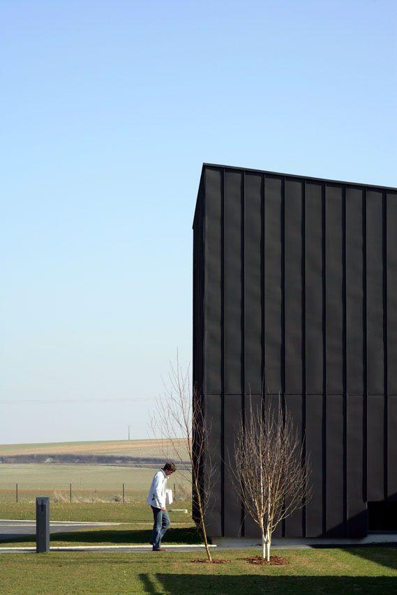 Gallery: Aat Gueux Zinc Exterior Material - Architecture Design Directory | Architecture Buildings