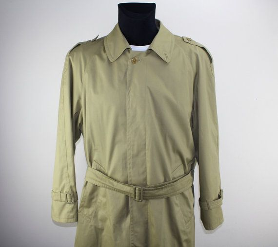 Vintage Stoff Mantel Anzug Mantel Second by DesignerSecondHand