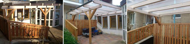 Überdachungen mit besonderer Note aus Köln, Bonn, Siegburg, Lohmar, Leichlingen. So lassen sich etwa Terrassen und Eingangsbereiche mit Massivholz überdachen und ein Regenschutz ist gewährleistet.