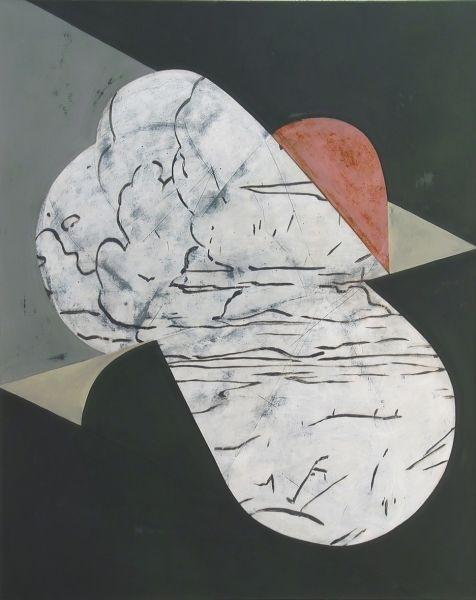 """Anne Neukamp, """"Packt die herzen aus"""", 2009Huile"""
