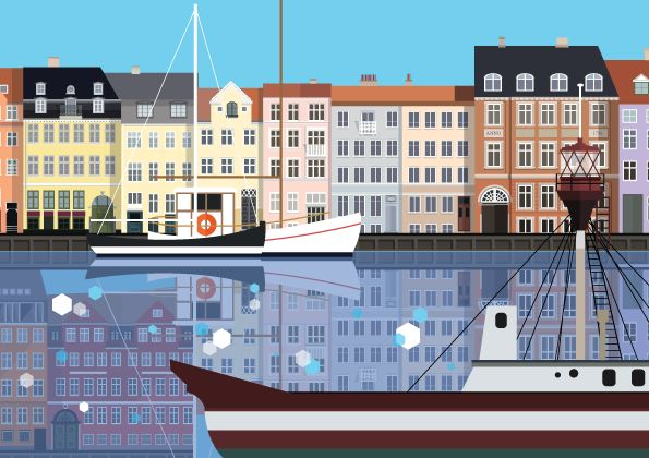 Nyhavn illustration by #Sivellink