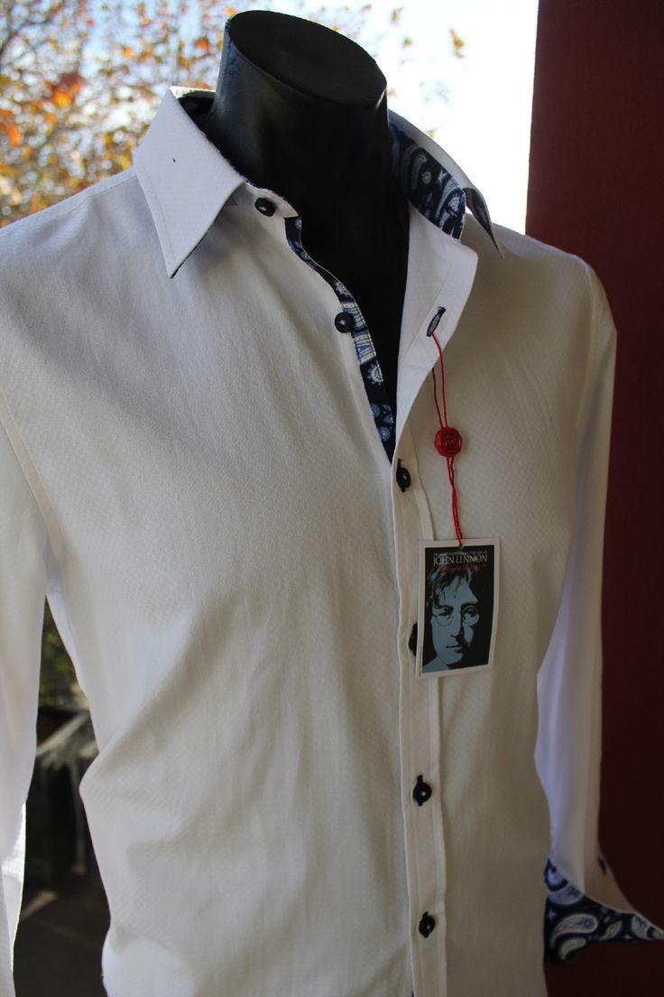 english laundry - John Lennon Jealous Guy Shirt White