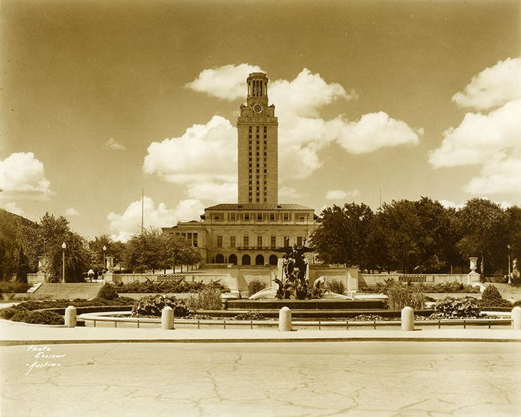 Historic Austin: The University Of Texas At Austin