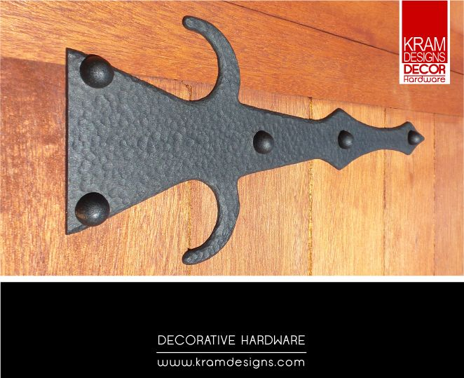 Add false hinges to your garage door with Kram Designs Decor Hardware to add that extra special look,