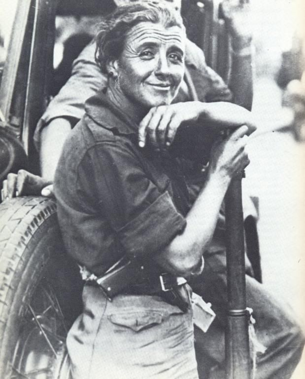 Spanish Civil War - milicianas.