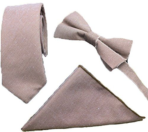 Flairs New York Gentleman's Essentials Chambray Bow Tie &... amazon.com