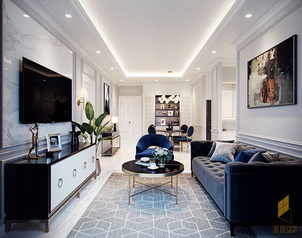 Apartment 75m2 On Behance Apartment Interior Home Room Design Home Decor