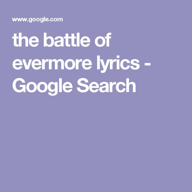 the battle of evermore lyrics - Google Search