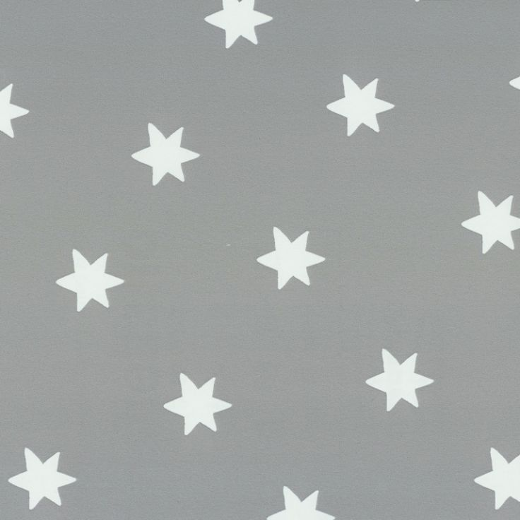 Tapete Sterne dunkelgrau/weiss