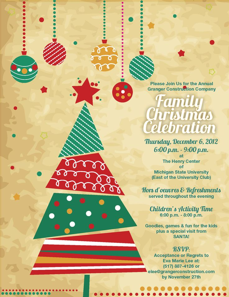 Best 25 Christmas invitation wording ideas – Holiday Office Party Invitation Templates