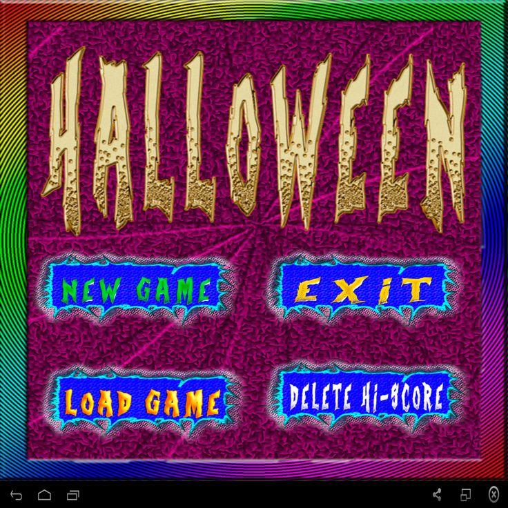 Halloween es un juego muy adictivo y entretenido.  Prepárate para coger todas las calaveras y esquivar a los enemigos.
