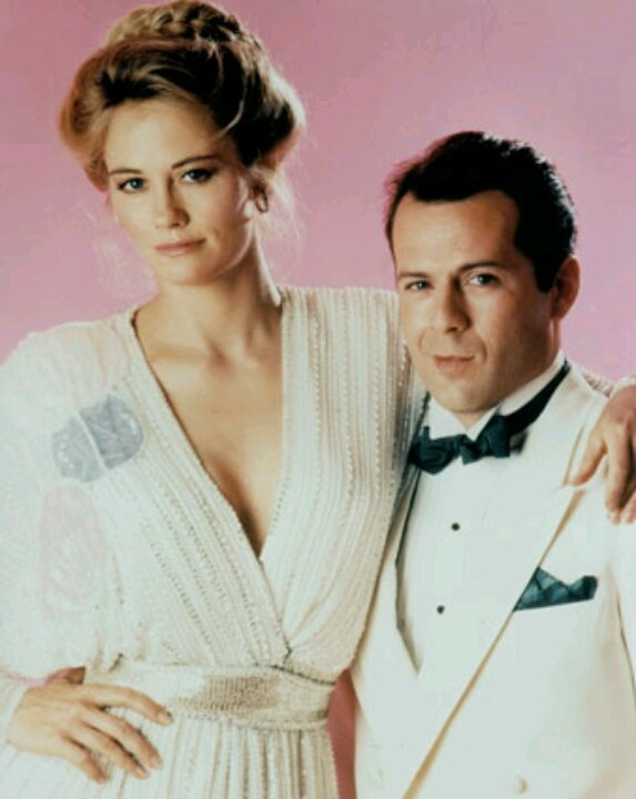 Moonlighting - First episode date: March 3, 1985 ~ Final episode date: May 14, 1989. Bruce Willis, Cybill Shepherd, Allyce Beasley & Curtis Armstrong - Booger in the Revenge of the Nerds movies.