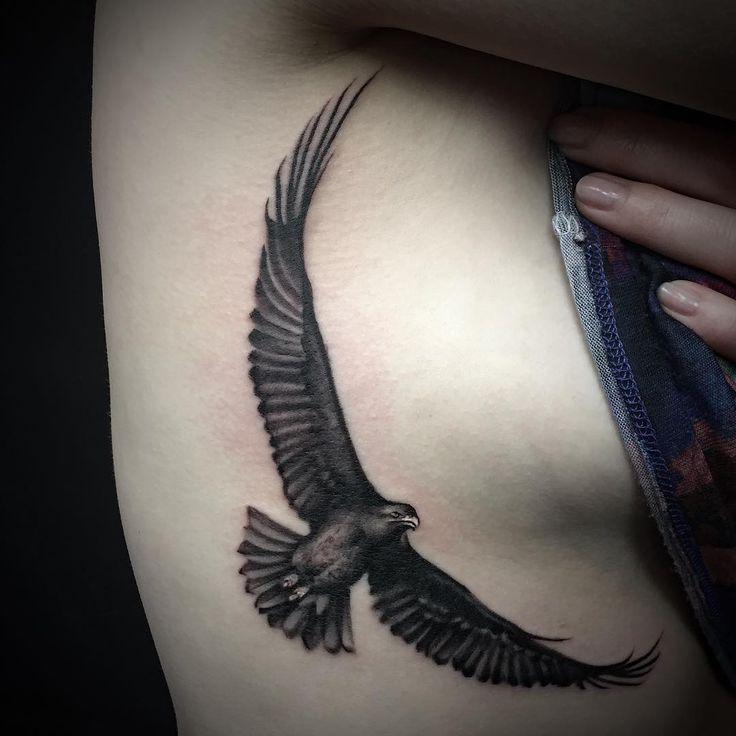 Side boob eagle by Antonio Gabriele.