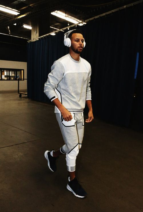 Stephen Curry has style.