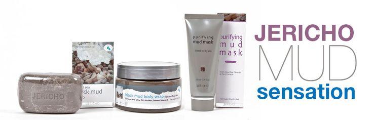 Jericho Mud sensation - Dead Sea skin care