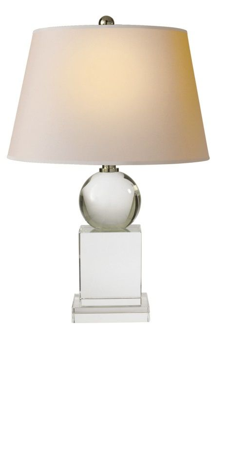 Table lamps designer 21 tall pedestal crystal ball lamp so beautiful inspire