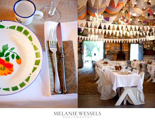 """Jan Harmsgat in Cullinan...Whimsical Vintage or """"Boere Baroque""""...you can make it go either way at this quaint venue. Shot by Melanie Wessels Photography"""