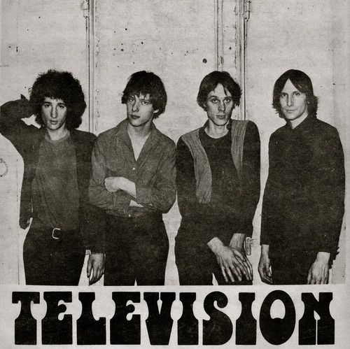 Love the band, Television! Their album Marquee Moon is genius and YEARS ahead of its time! Pure inspiration.