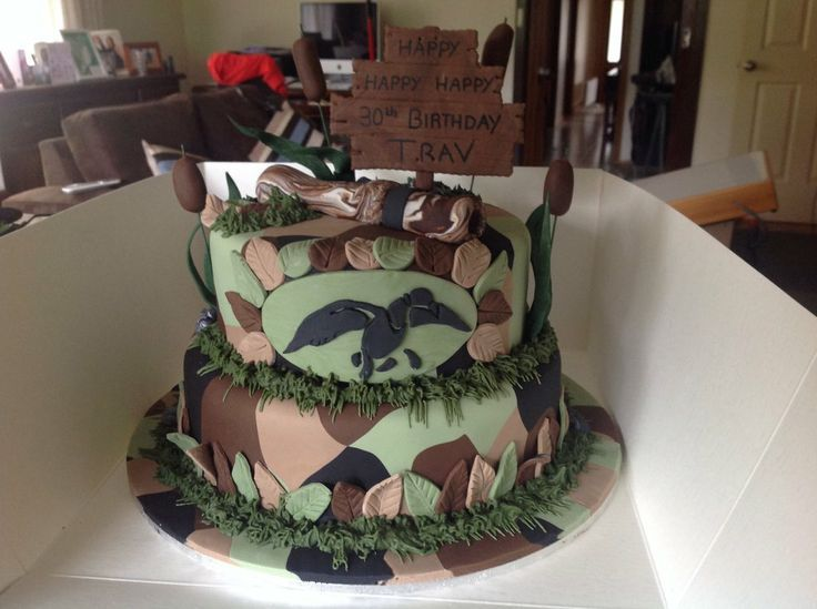 duck dynasty cakes | Duck Dynasty Cake by Butterflydettie