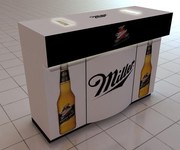 Mueble degustación Miller