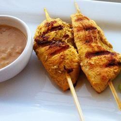 Peanut Chicken Satay @ allrecipes.co.uk