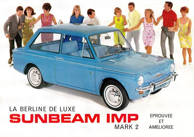 The Imp was sold in France under the Sunbeam brand
