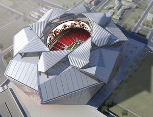 New Atlanta Falcons Stadium Roof Mimics Camera Lens | ENR: Engineering News Record | McGraw-Hill Construction