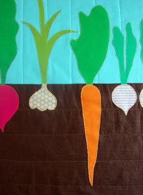 Coisinhas a Mais Etc e Tal: Quilt Vegetable