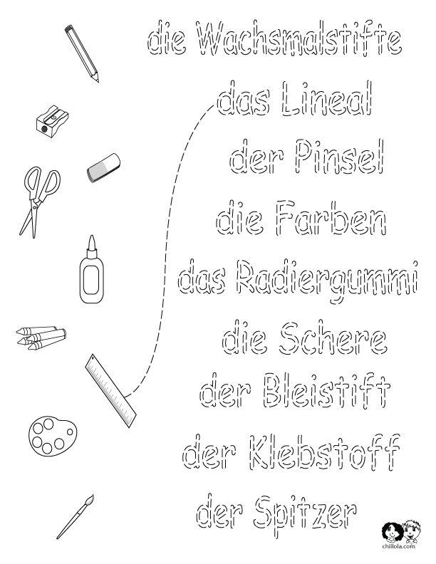 110 best german worksheets for children deutsch f r kinder arbeitsbl tter images on. Black Bedroom Furniture Sets. Home Design Ideas