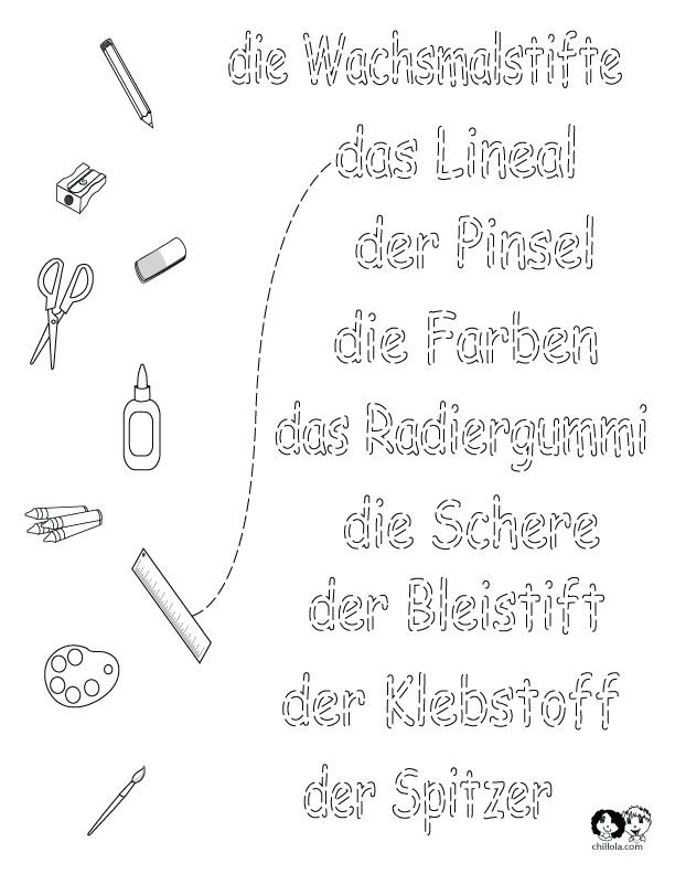 worksheets german school german worksheets for children deutsch. Black Bedroom Furniture Sets. Home Design Ideas