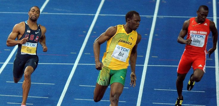 The secret to Usain Bolt's speed may lie in synchronicity