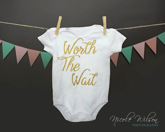 Worth The Wait Bodysuit  Coming home Outfit  by ThePurpleLadybug1