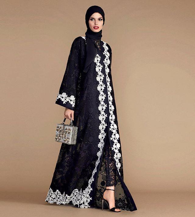 @dolcegabbana Discover the Abaya Collection: modest fashion by Dolce&Gabbana #DGwomen