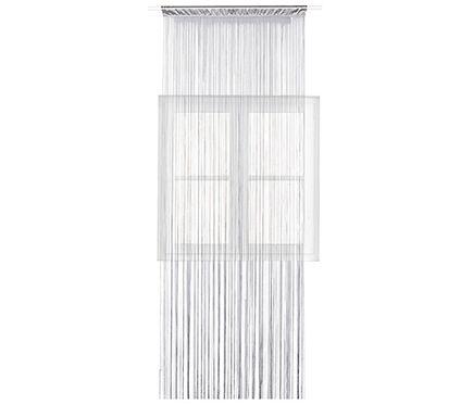 Cortina confeccionada HILOS GRISRef.16574481 Cortina con opacidad media diseñada en color gris, fabricado en 100% poliéster. Medidas 240 x 90 cm. 10€