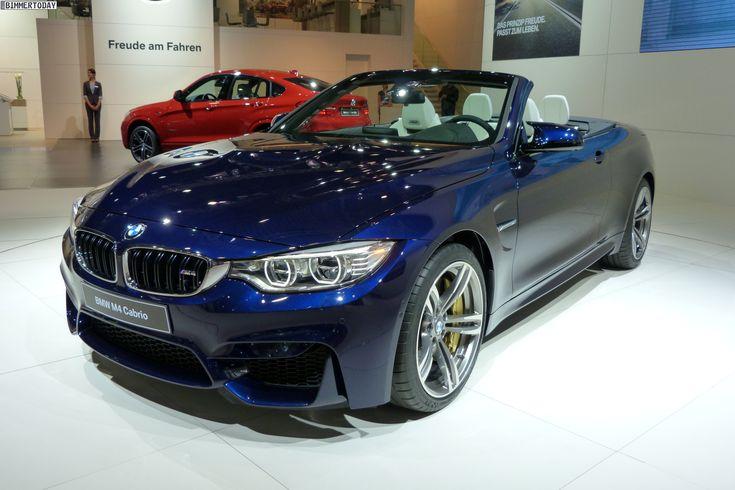 BMW M4 Convertible Individual Tanzanite Blue - http://www ...