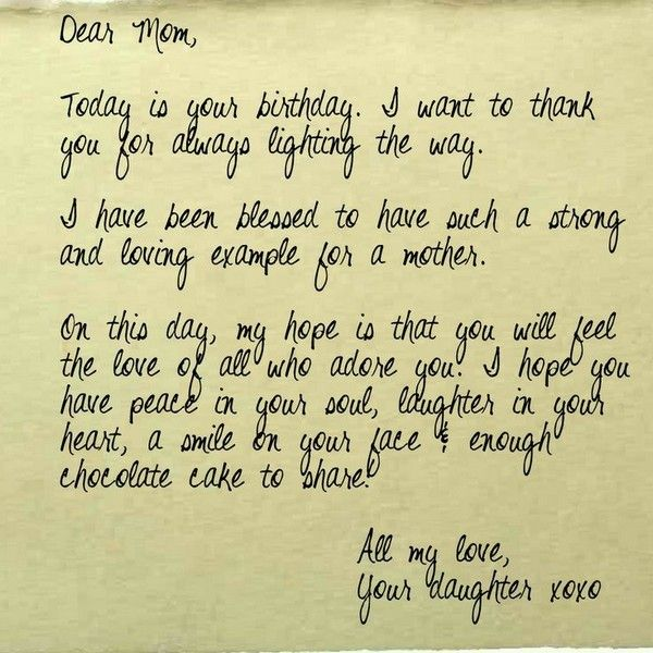 The  Best Mother Birthday Wishes Ideas On   Happy