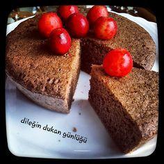 Dileğin Dukan Günlüğü: Kakaolu Islak Kek ( Seyir, Güçlendirme)