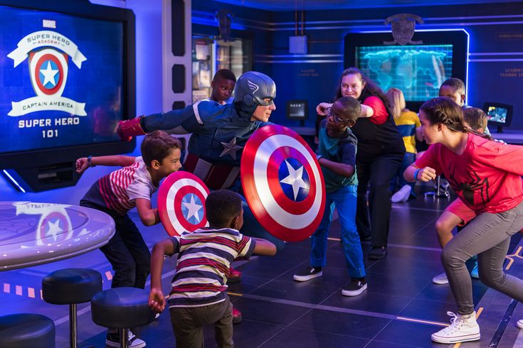 Go inside the new Marvel Superhero Academy on the Disney Wonder to check out a place where kidscan find what it takes to become a true hero.  The Disney Wonder Oceaneer Club (for kids 3 to 12 years old) has been expanded and enhanced to include a new place…