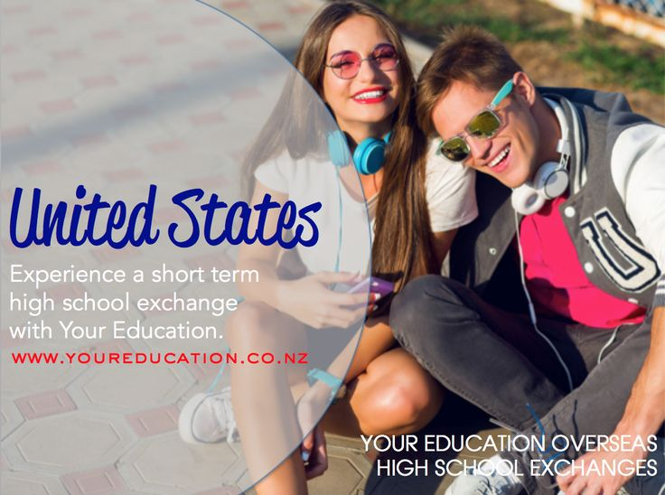 Go on a short term high school exchange to the USA with Your Education.